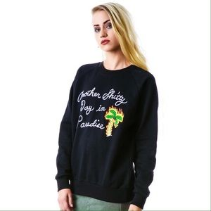 Unif Another Shitty Day In Paradise Sweatshirt